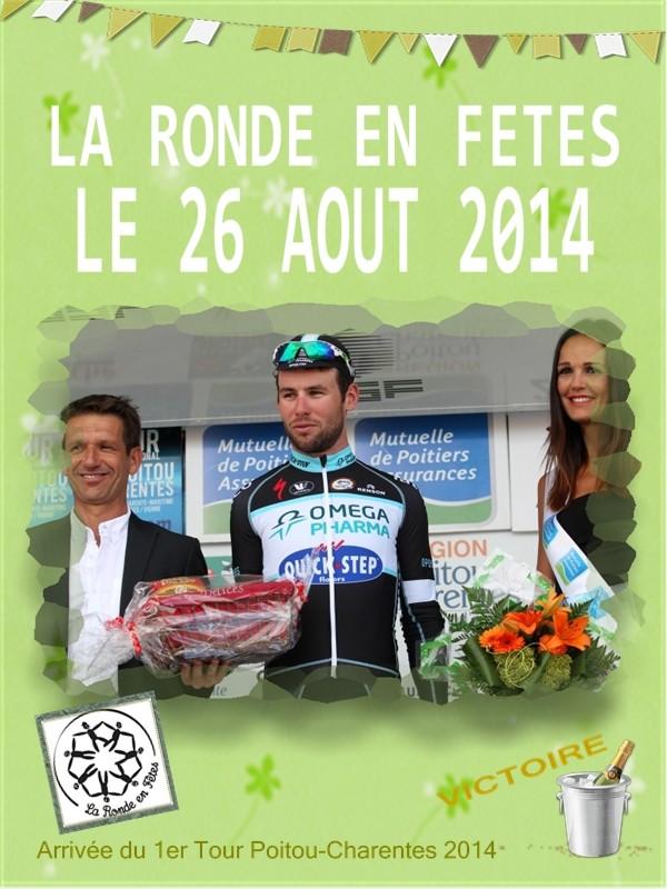 L'arrivée de la 1ère étape du 28ème Tour Poitou-Charentes.