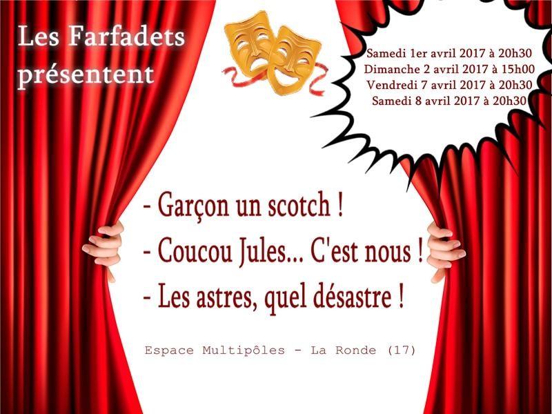 Au théâtre à La Ronde: 3 pièces pour 1 troupe