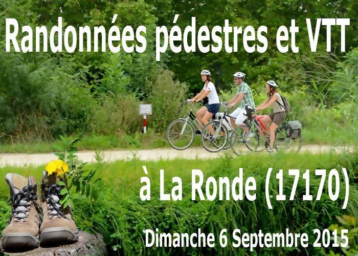 Randonnées pédestres et VTT à La Ronde